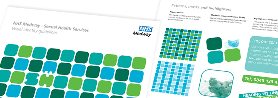 NHS Medway Sexual Health branding guidelines
