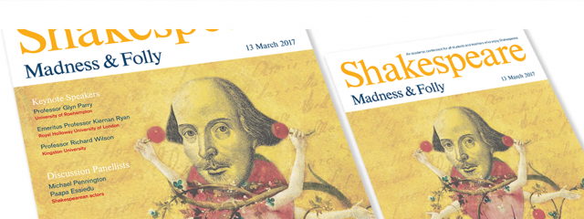 Shakesperare Conference 2017 Poster