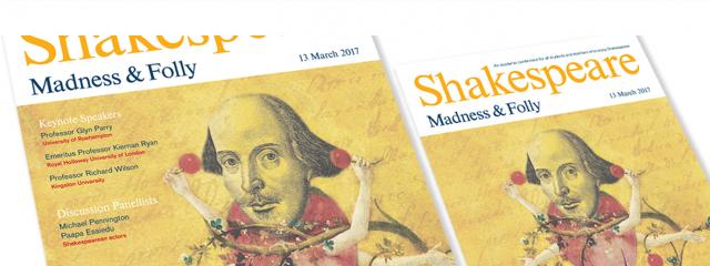 Shakesperare Conference 2017 Poster